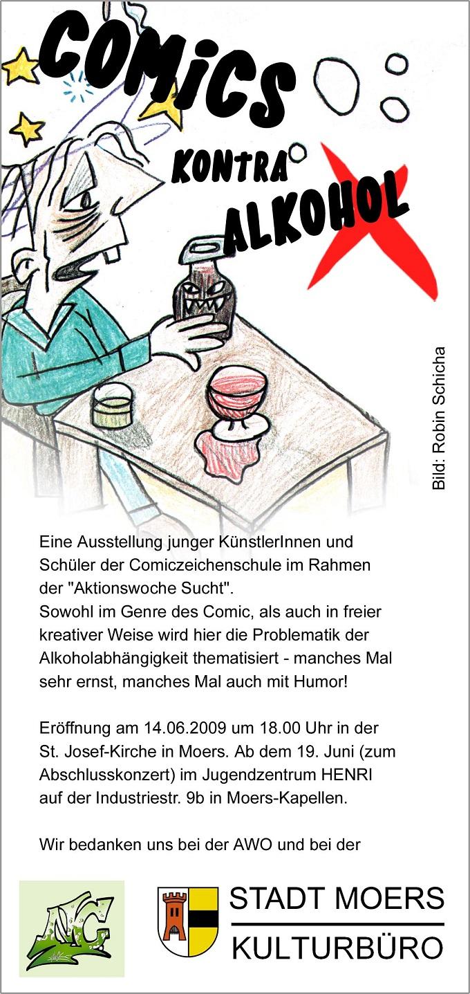 1-Flyer_Comics_kontra_Alkohol-N
