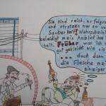 Alkohol im Bankenviertel