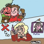 Angela Merkels Telefonate mit Putin
