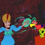 Szene aus Aladdin