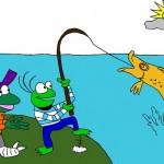 Fisch fangen
