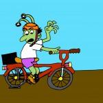 Der Fahrrad-Schlitzer