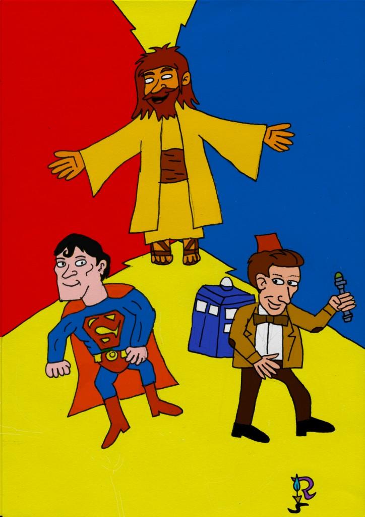 superman :Jesus