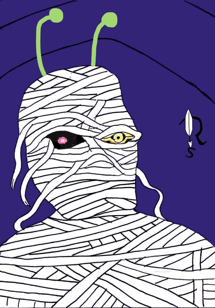 Alien Mumie