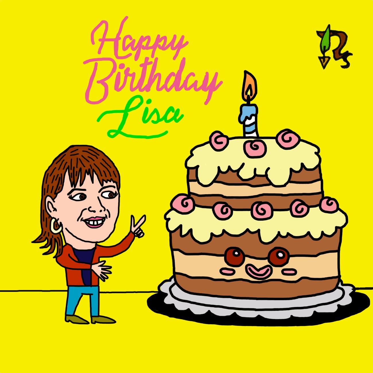 Lisa -Geburtstag