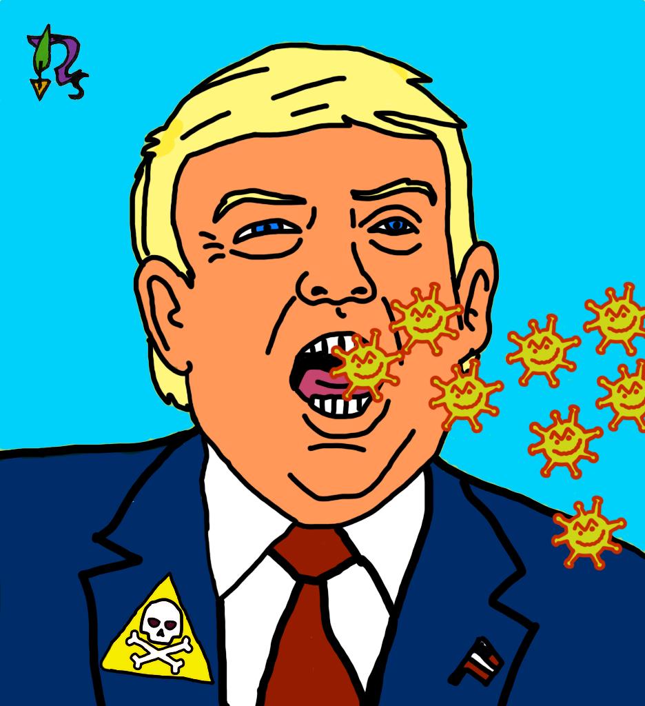 Trump Viren-Scvhleuder G