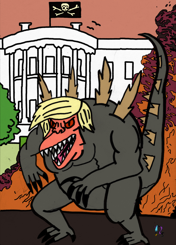 Godzilla Trump1-klen